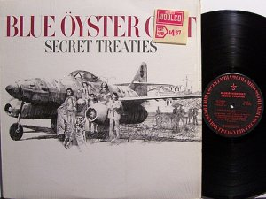 Blue Oyster Cult - Secret Treaties - Vinyl LP Record - Rock