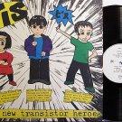 "Bis - The New Transistor Heroes - Vinyl LP Record + Bonus 7"" - Rock"