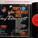 Bennett, Tony - Tony's Greatest Hits - Vinyl LP Record - Pop