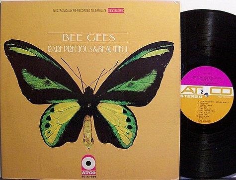 Bee Gees, The - Rare Precious & Beautiful - Vinyl LP Record - Pop Rock