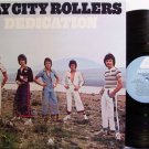 Bay City Rollers, The - Dedication - Vinyl LP Record - Rock
