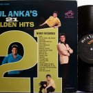 Anka, Paul - Paul Anka's 21 Golden Hits Newly Recorded - Vinyl LP Record - Pop Rock