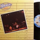 America - Live - Vinyl LP Record - Rock