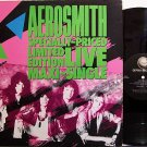 "Aerosmith - Darkness + 3 Live Songs - Vinyl 12"" Single Record - Rock"