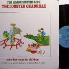 Simon Sisters, The - Sing The Lobster Quadrille - Vinyl LP Record - Carly Simon - Children Kids