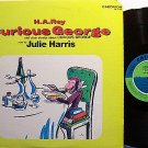 Curious George - Stories Read By Julie Harris - Vinyl LP Record - Children Kids