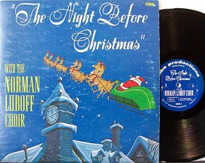 Luboff, Norman Choir - The Night Before Christmas - Vinyl LP Record