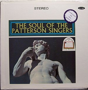 Patterson Singers, The - The Soul Of - Sealed Vinyl LP Record - Black Gospel