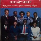 Lewis, Tony & The Capitol Community Singers - Feed My Sheep - Sealed Vinyl LP Record - Black Gospel