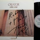 Crow, Robin - Creator - Signed - Vinyl LP Record - Christian Rock