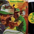Oakland A's - Finley's Heroes - Vinyl LP Record - Athletics - Baseball Sports