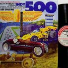 Great Moments From The Indy 500 - Vinyl LP Record  - Racing Sports
