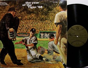 Detroit Tigers - Year Of The Tiger '68 - Vinyl LP Record - Baseball Sports