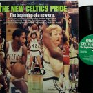 Boston Celtics - The New Celtics Pride - Vinyl LP Record - Larry Bird - Basketball Sports