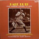 Babe Ruth - The Legend Comes To Life - Sealed Vinyl LP Record - Baseball Sports