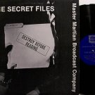Secret Files, The - Vinyl LP Record - Doug Benson / Ben Kassanoff - Comedy