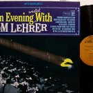 Lehrer, Tom - An Evening Wasted With - Vinyl LP Record - Comedy