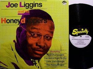 Liggins, Joe & The Honeydrippers - Self Titled - Vinyl LP Record - R&B Soul