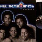 Jacksons, The - Triumph - Vinyl LP Record - Michael Jackson - R&B Soul