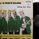 Five Royales - The 5 Royales Sing - Vinyl LP Record - R&B Soul