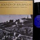 Sounds Of Jerusalem - Vinyl LP Record - Folkways Label - World Music