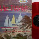Polynesians, The - Blue Hawaii - Red Colored Vinyl - LP Record - World Music