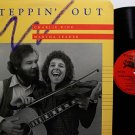 King, Charlie & Martha Leader - Steppin' Out - Vinyl LP Record - Folk