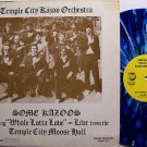 Temple City Kazoo Orchestra - Blue Marble Colored Vinyl - LP Record - Odd Unusual Weird