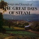 Songs & Sounds Of The Great Days Of Steam (Train) - Sealed Vinyl LP Record - Johnny Cash etc