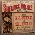 Sherlock Holmes Adventures - Sealed Vinyl 2 LP Record Set - Odd Unusual Weird