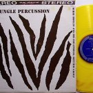 Jungle Percussion - Yellow Colored Vinyl - LP Record - Subri Moulin - Odd Unusual Weird