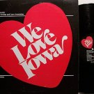 Cook, Bob - We Love Iowa - Vinyl LP Record - Odd Unusual Weird
