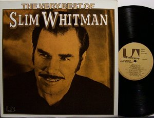 Whitman Slim The Very Best Of Vinyl Lp Record Country