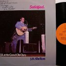 Shelton, J.B. - Satisfied - Signed - Vinyl LP Record - Country
