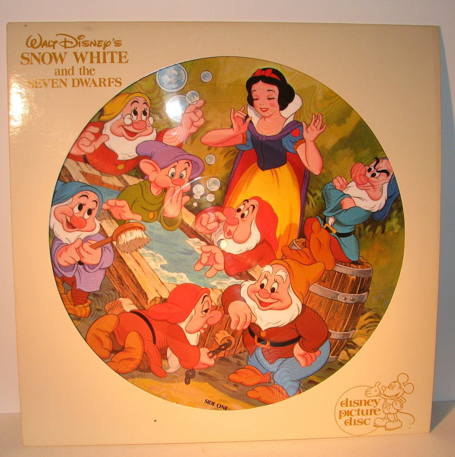 Disney Walt Snow White And The Seven Dwarfs Picture