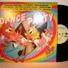 Dance Party - Irwin the Dynamic Ducks - Vinyl LP Record - Children Kids