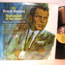 Sinatra, Frank - September of My Years- Stereo - Vinyl LP Record - Pop