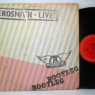 Aerosmith - Live - Bootleg - Vinyl 2 LP Record Set - Rock