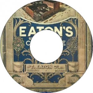 1913 Eaton Catalogue Spring & Summer Number 106 CD
