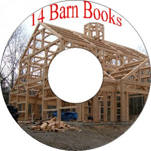 14 Old Vintage Books About Barns Out Buildings Sheds On CD