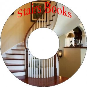 21 Old Books How To Build Classical Spiral Stairs Staircases & Handrails On CD