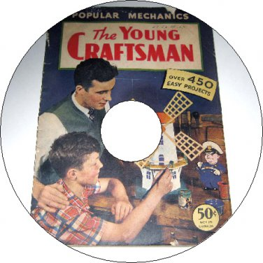 The Young Craftsman Book of Over 450 Easy Craft Projects & Patterns CD