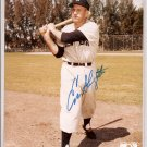 Enos Slaughter Authentic Autographed 8x10 Photo COA #'d