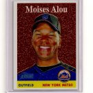 2007 Topps Heritage Chrome Moises Alou card# THC31 serial #'d 1131/1958