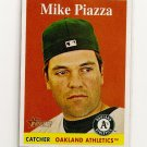 2007 Topps Heritage Mike Piazza card# 192 - Athletics