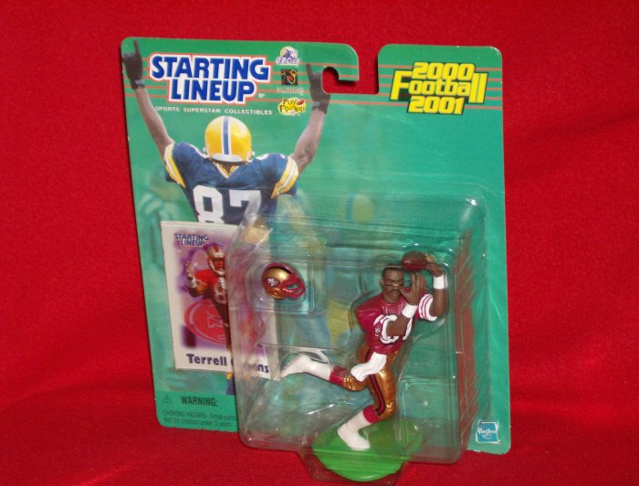 2000 Hasbro Starting Lineup Terrell Owens - 49ers