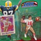 2000 Hasbro Starting Lineup Joe Montana Commemorative - 49ers