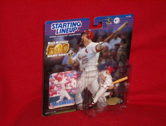 2000 Hasbro Starting Lineup Mark McGwire 500 Home runs
