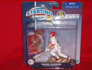 2001 Hasbro Starting Lineup 2 Mark McGwire - Cardinals