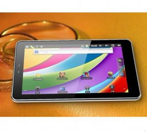 7 inch Android 4.0 Tablet PC 512MB Memory 4GB Storage IPS capacitive Dual Camera Lead and Rear